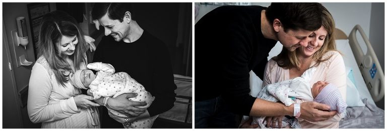 after birth of new baby photography candid moments