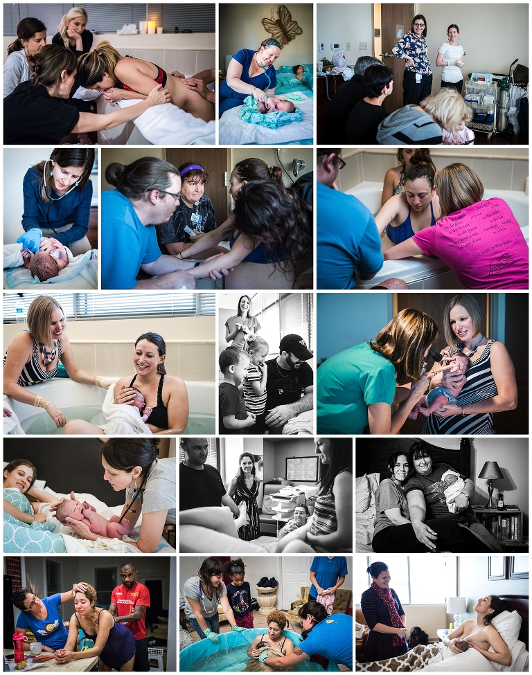 celebrating these women - International day of the midwife