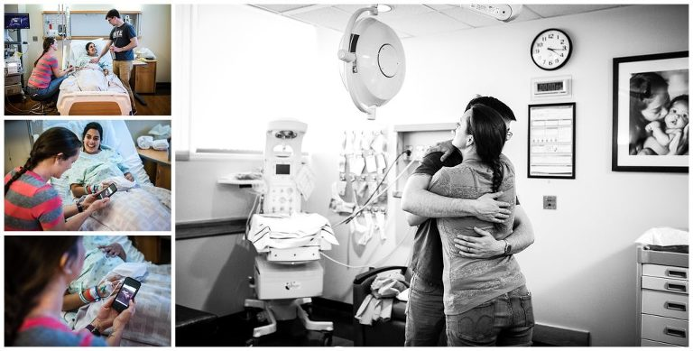 before baby is born doula Rebecca Mckinney supporting parents