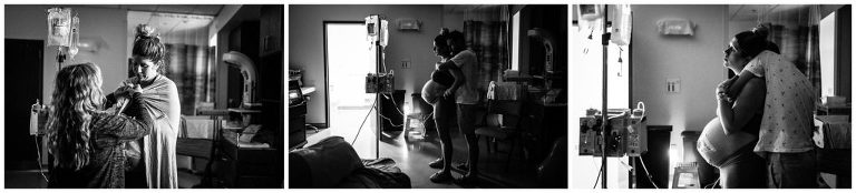 At UF Health North contractions get stronger and closer together during an induction